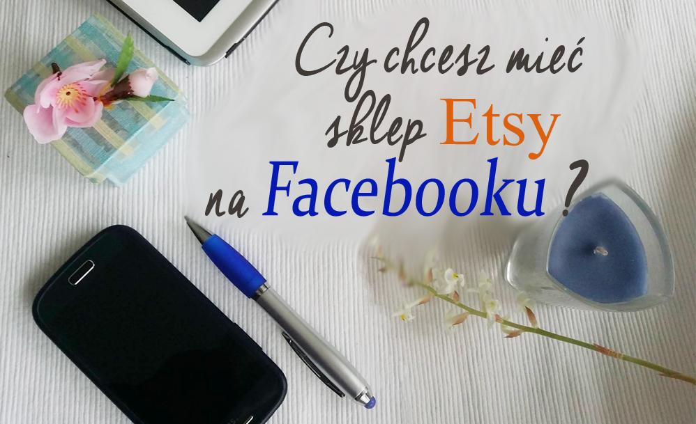 sklep Etsy na Facebook