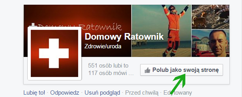 Facebookowe przyciski